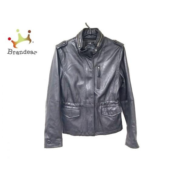 【ご予約品】 ニジュウサンク 23区 ライダースジャケット サイズ38 M レディース 黒 スペシャル特価 20200118, 木こり屋 6f6a53e4