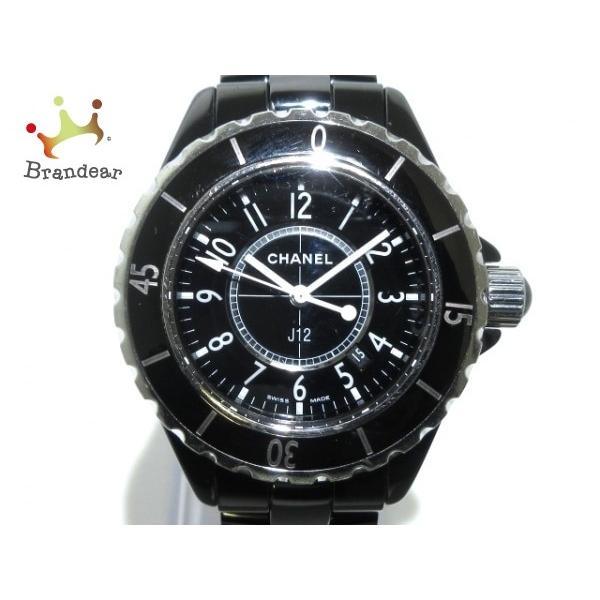 今年も話題の シャネル 値下げ CHANEL レディース 腕時計 J12 H0682 H0682 レディース 33mm/セラミック/旧型 黒 値下げ 20200229, TIARA:f57b26c1 --- airmodconsu.dominiotemporario.com