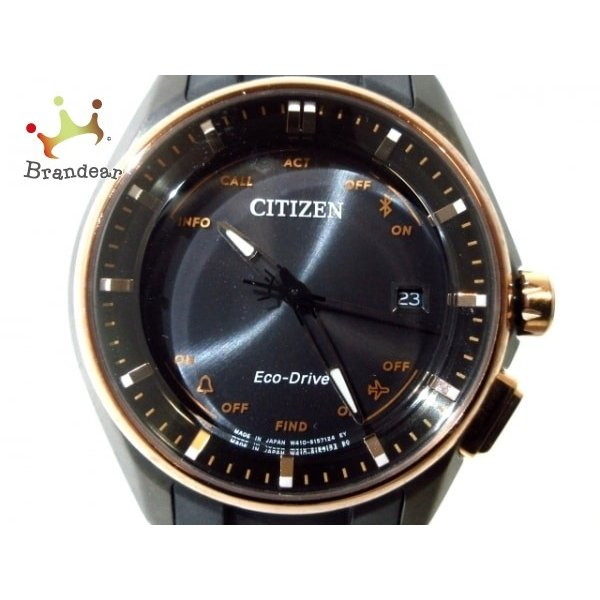 お手頃価格 シチズン 値下げ CITIZEN 腕時計 美品 エコ 20200228・ドライブ ブルートゥース CITIZEN BZ4006-01E メンズ 黒 値下げ 20200228, シルバーアクセサリーFIGMART:0fb3c3e5 --- airmodconsu.dominiotemporario.com
