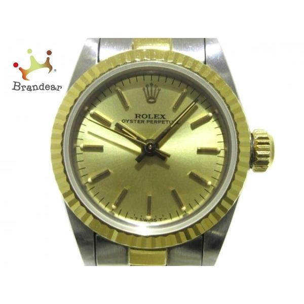 日本人気超絶の ロレックス ROLEX 腕時計 オイスターパーペチュアル 67193 レディース ゴールド 新着 20200228, 工具ショップ 6ef1991d