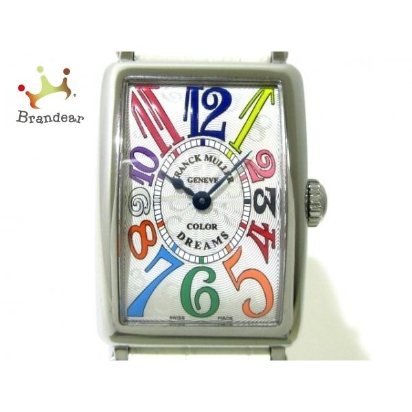 品質検査済 フランクミュラー 腕時計 美品 ロングアイランド カラードリーム カラードリーム 20200211 902QZ COL レディース DRM レディース 白 新着 20200211, 着物かりんとう:7cc12a08 --- airmodconsu.dominiotemporario.com