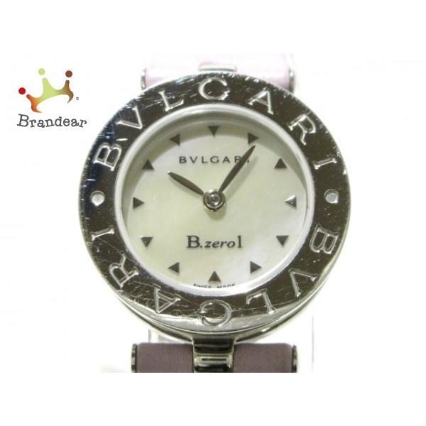 正規品販売! ブルガリ BVLGARI 腕時計 B-zero1 B-zero1 値下げ BZ22S レディース BVLGARI シェル文字盤 シェルホワイト 値下げ 20200312, 下山村:963dbcd0 --- airmodconsu.dominiotemporario.com