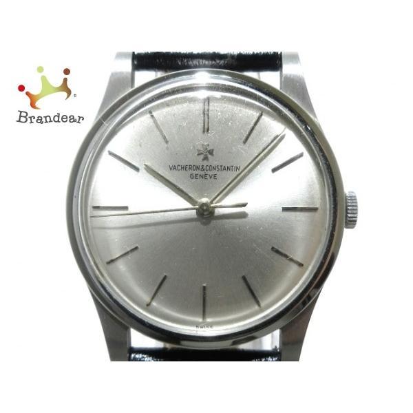 【新品、本物、当店在庫だから安心】 ヴァシュロンコンスタンタン 腕時計 - メンズ アンティーク/SS/社外革ベルト シルバー 新着 20200304, 高萩市 bede3e4e