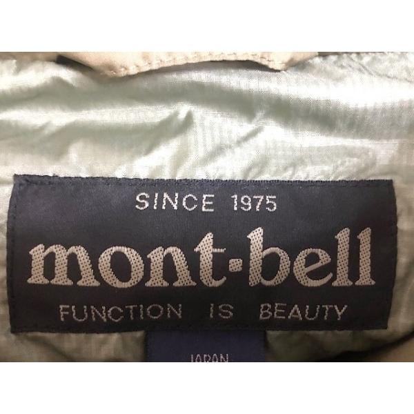 モンベル mont-bell ダウンコート サイズL メンズ 美品 カーキ 冬物 新着 20201025|brandear|03