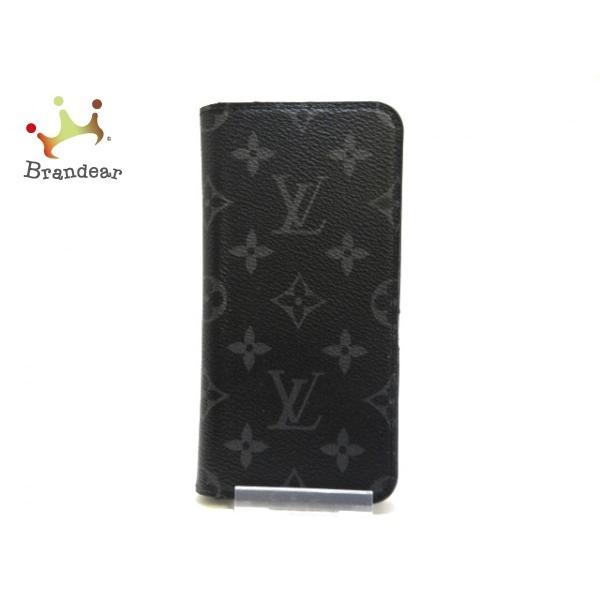 ルイヴィトン 携帯電話ケース モノグラムエクリプス(キャンバス) iPhone XSMAXフォリオ M67484 値下げ 20201117