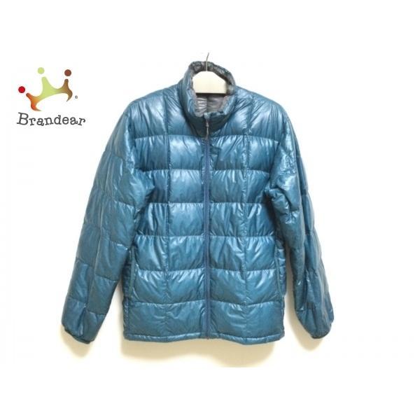 モンベル mont-bell ダウンジャケット サイズS メンズ ブルー 冬物   スペシャル特価 20210402|brandear