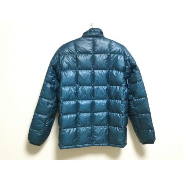 モンベル mont-bell ダウンジャケット サイズS メンズ ブルー 冬物   スペシャル特価 20210402|brandear|02