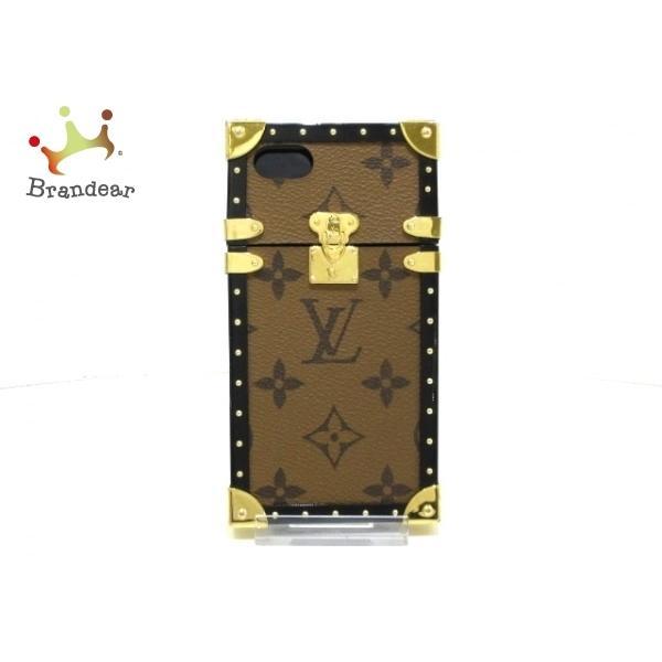 ルイヴィトン LOUIS VUITTON 携帯電話ケース モノグラムリバース アイ·トランク IPHONE7 M64484  値下げ 20201229