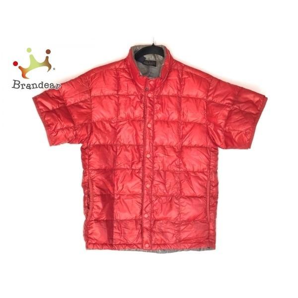 モンベル mont-bell ダウンジャケット サイズXS メンズ - レッド 半袖/春/秋 新着 20210126|brandear