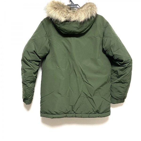 モンベル mont-bell ダウンコート サイズXS メンズ 美品 ダークグリーン ファー着脱可/冬物 新着 20210223|brandear|02