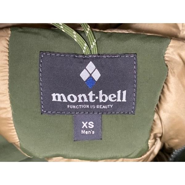 モンベル mont-bell ダウンコート サイズXS メンズ 美品 ダークグリーン ファー着脱可/冬物 新着 20210223|brandear|03