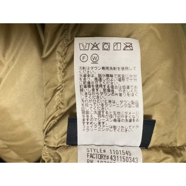 モンベル mont-bell ダウンコート サイズXS メンズ 美品 ダークグリーン ファー着脱可/冬物 新着 20210223|brandear|05