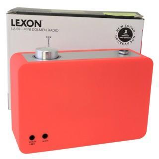 訳あり 特価品 海外仕様 レクソン LEXON レクソン AM FMラジオ RADIO LA69 ORANGE オレンジ brandechoice 04