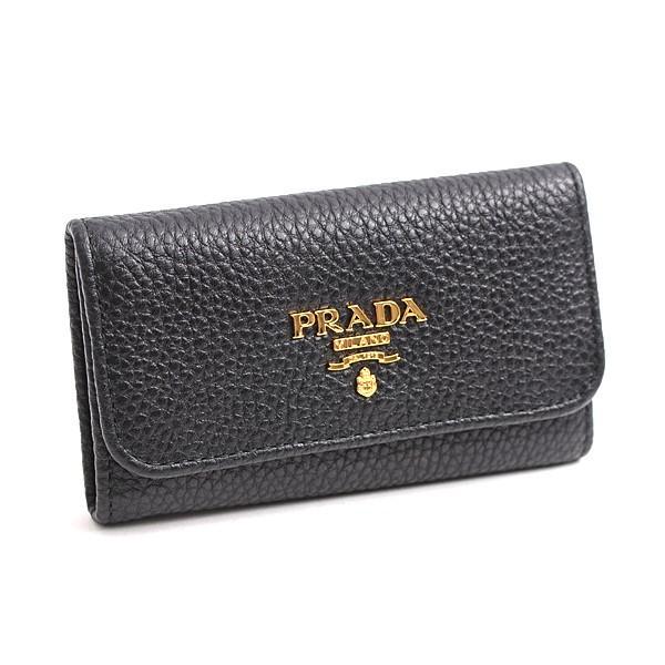 お気に入り プラダ PRADA カーフ 6連キーケース PRADAロゴ 1PG222 ネロ(ブラック) 未使用展示品, スピンラインゴルフ bdfe9881
