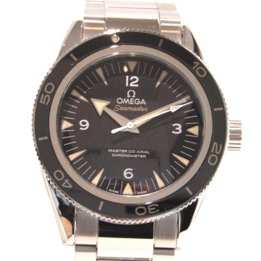 新版 オメガ ランクA シーマスター300マスターコーアクシャル 腕時計 腕時計 ウォッチ シルバーxブラック ステンレススチール(SS) オメガ ランクA, EARTH PIECE:5e58c518 --- airmodconsu.dominiotemporario.com