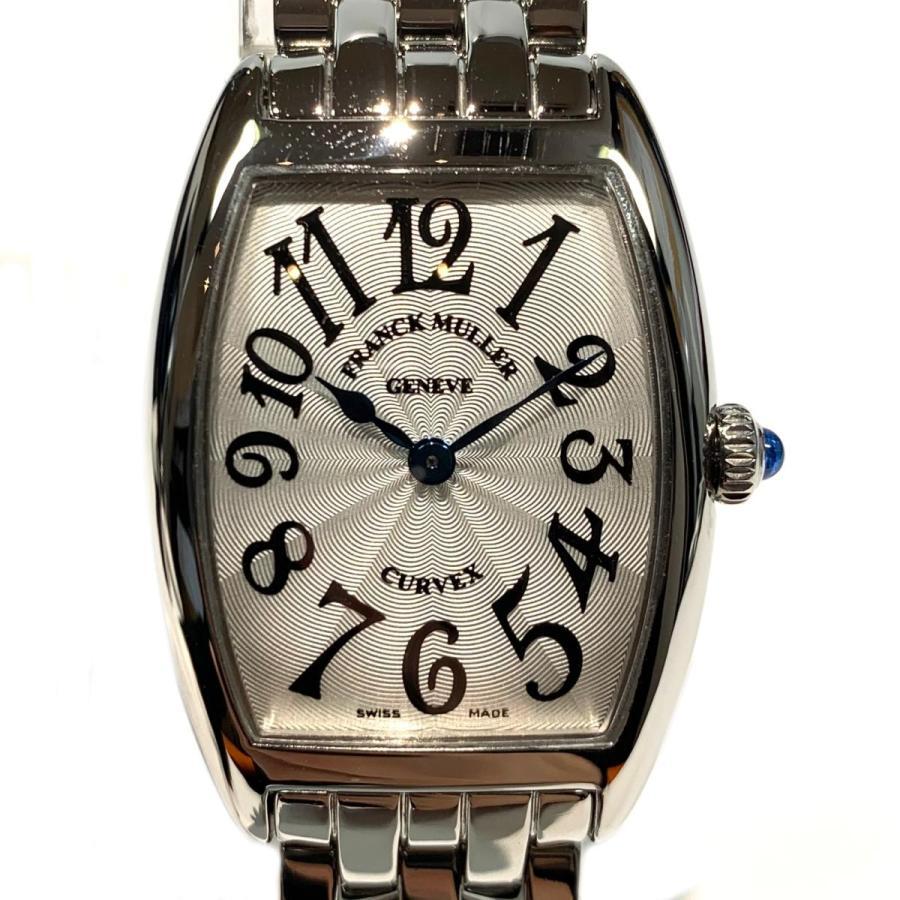 安い購入 フランク・ミュラー シルバー トノーカーベックス ウォッチ 腕時計 ウォッチ シルバー ステンレススチール(SS) 1752QZ 1752QZ ランクA, 手稲区:d67dc3f0 --- airmodconsu.dominiotemporario.com