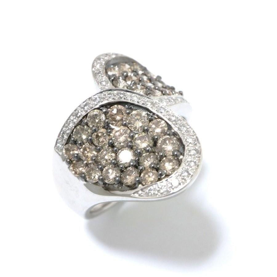 【SALE】 ジュエリー ダイヤモンド リング x 指輪 クリアー x シルバー K18WG(750) クリアー リング ホワイトゴールド x ダイヤモンド(1.62ct) ランクA, ファーストハンズ:8dc7234d --- airmodconsu.dominiotemporario.com