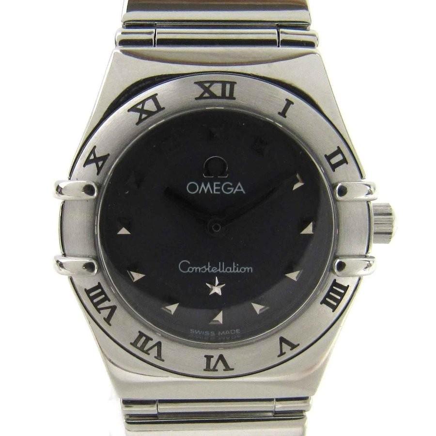 【ギフト】 オメガ コンステレーション マイチョイス ウォッチ 腕時計 シルバー ステンレススチール(SS) ランクA, フジサワチョウ 21e84794