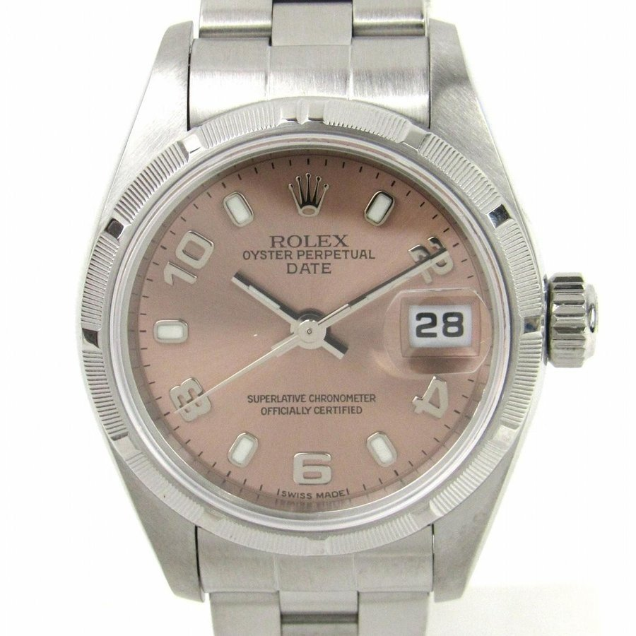【最安値に挑戦】 ロレックス パーペチュアル デイト ウォッチ 腕時計 シルバー ステンレススチール(SS) 79190 K番 ランクA, ラーメンもりしげ ca60f37b