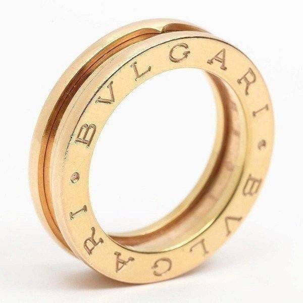 超爆安  ブルガリ K18YG B-zero1 ビーゼロワンリング 指輪 XSサイズ K18YG 指輪 ブルガリ イエローゴールド 10号 #50, ボニータボニータ:659cf943 --- airmodconsu.dominiotemporario.com