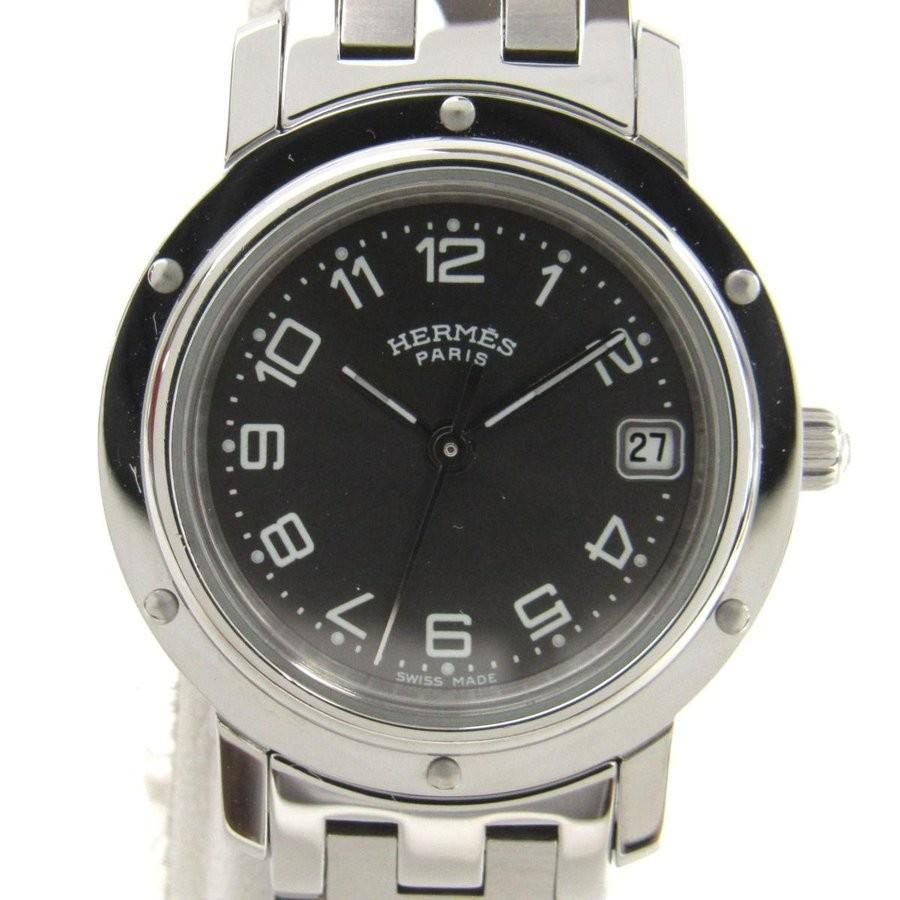 激安通販新作 エルメス クリッパー クリッパー ウォッチ 腕時計 腕時計 エルメス シルバー ステンレススチール(SS) CL4.210 ランクA, ファーストコンタクト:f9dee0cd --- airmodconsu.dominiotemporario.com