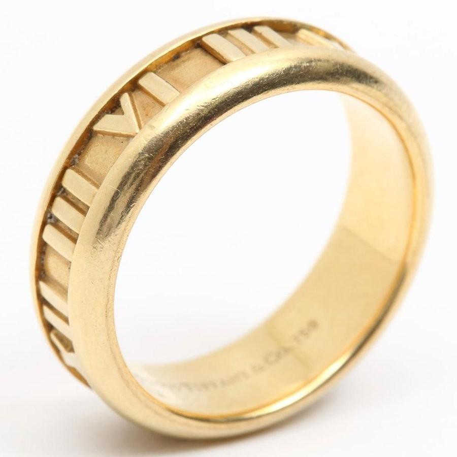 欲しいの ティファニー アトラスリング 指輪 K18YG(750) イエローゴールド ティファニー 19号 ランクA K18YG(750) 19号, 神戸市漁業協同組合:4cbe1f31 --- airmodconsu.dominiotemporario.com