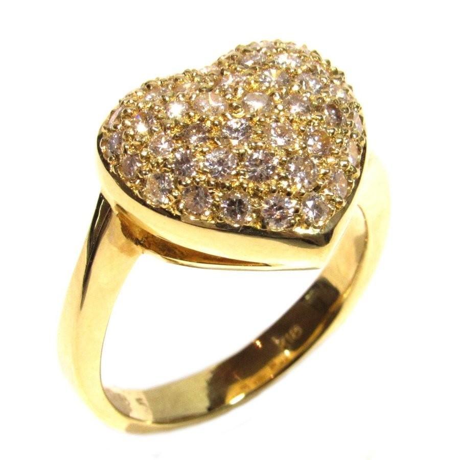 新到着 ジュエリー ダイヤモンド リング 指輪 クリアーxゴールド K18YG(750) イエローゴールドxダイヤモンド0.85ct ランクS 10号, クーテ e9929f91