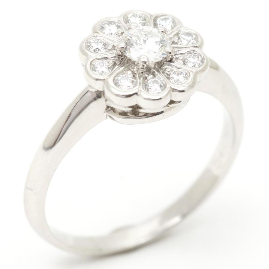 【特別訳あり特価】 ティファニー エンチャント ダイヤモンド リング 指輪 PT950 プラチナ x ダイヤモンド ランクA 10号, 久木野村 e47ba534