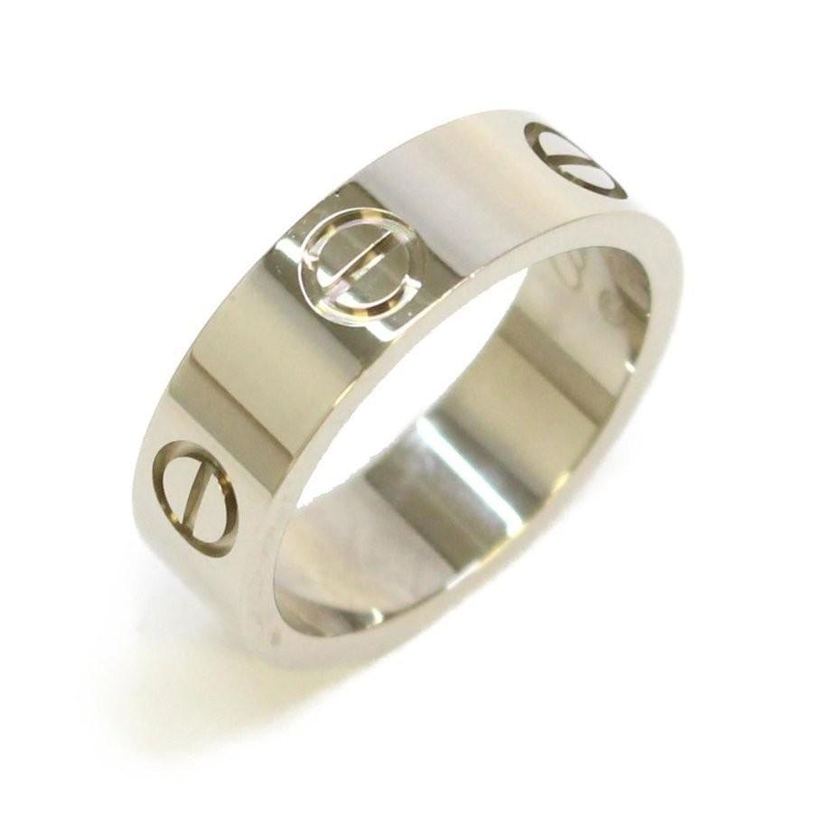 売れ筋商品 カルティエ ラブリング リング 指輪 シルバー K18WG(750) ホワイトゴールド  #50 10号, USA OUTLET SHOP 7b12cc6e