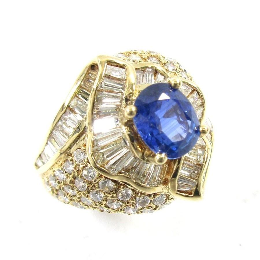 100%安い ジュエリー サファイアリング クリアー 指輪 ゴールド X ブルー X ブルー クリアー ランクA X 12号, サカエマチ:993e9742 --- airmodconsu.dominiotemporario.com