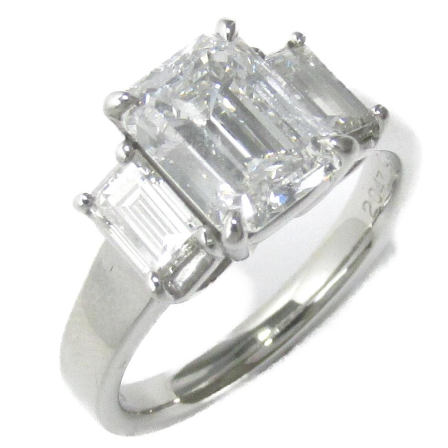 2019春の新作 ジュエリー ダイヤモンド リング 指輪 クリアー x シルバー PT900 プラチナ x ダイヤモンド(2.047ct/0.68ct) ランクA, COMODO VIENTO 2719358f