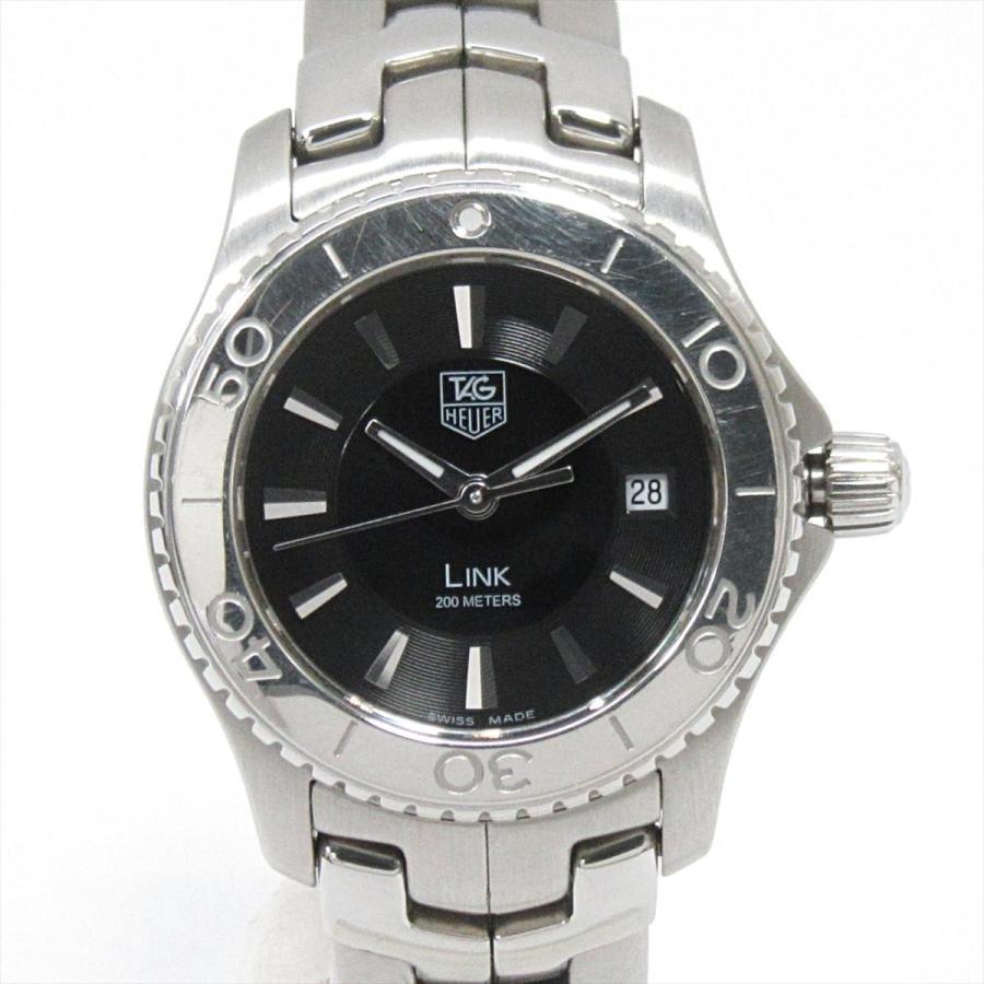 お見舞い タグ・ホイヤー リンク 腕時計 ウォッチ ブラック ステンレススチール(SS) WJ1314.BA0573 ランクB, ルノールリヴィエール 4c885370
