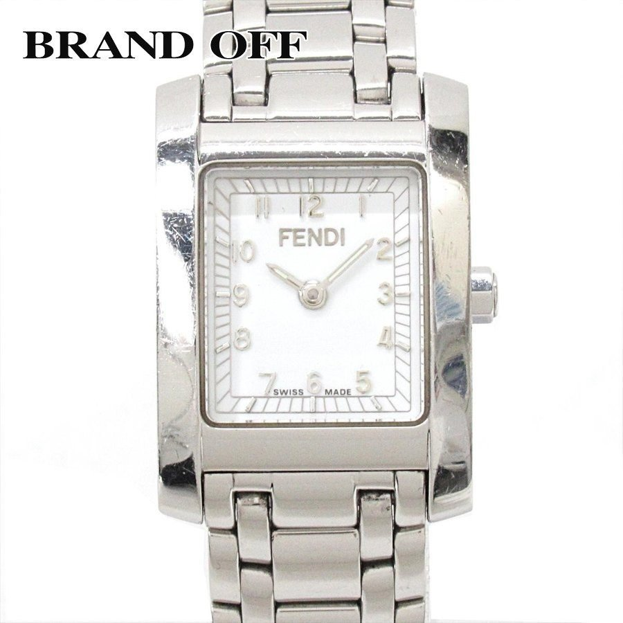 セール 登場から人気沸騰 フェンディ クラシコ 腕時計 ウォッチ ホワイト ステンレススチール(SS) 7000L ランクB, ニシヤママチ 68e6dfa2