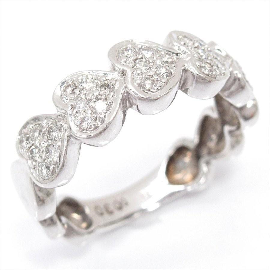 最新のデザイン ジュエリー K18WG(750) ダイヤモンドリング 指輪 K18WG(750) ホワイトゴールド ジュエリー 10号 ダイヤモンド(0.30ct) 10号, 輸入セレクト【ベルメサージュ】:b1340175 --- airmodconsu.dominiotemporario.com