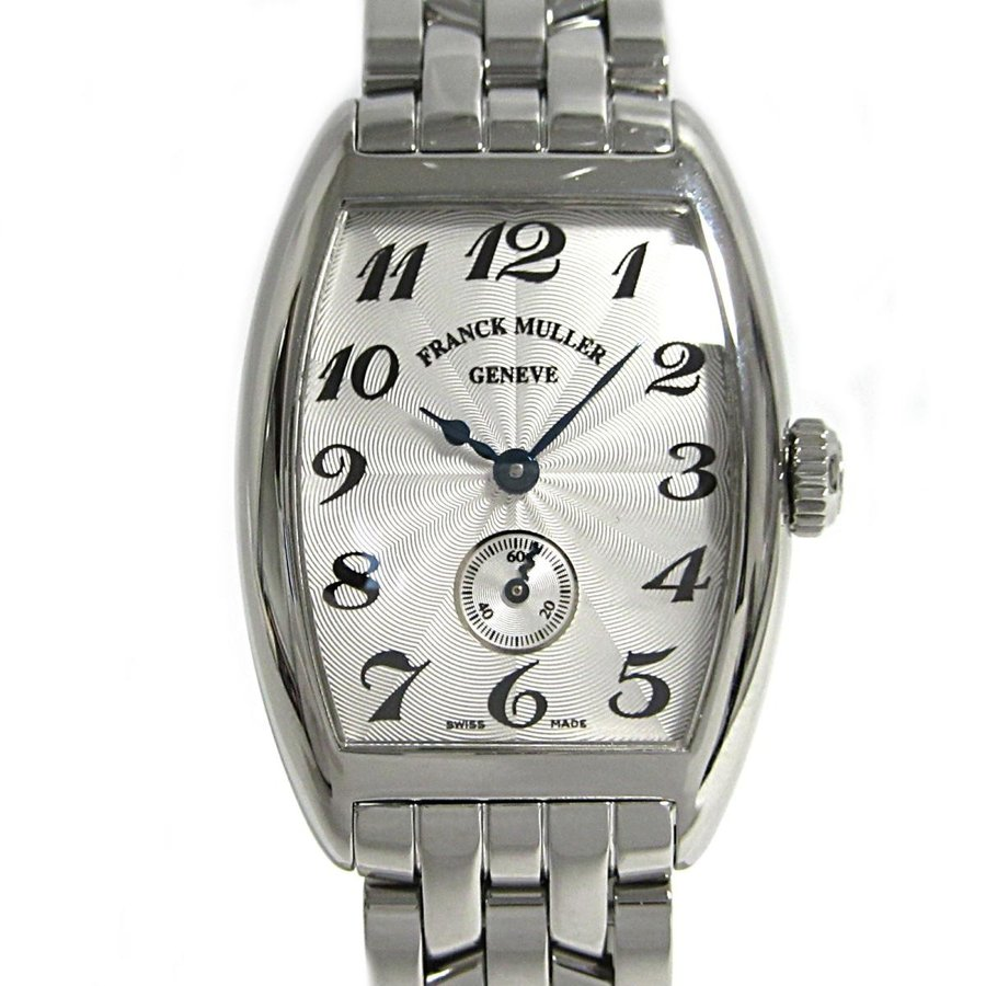 【希少!!】 フランク・ミュラー トノウカーベックス 腕時計 腕時計 ウォッチ ウォッチ レディース シルバー シルバー ステンレススチール(SS) 1750S6 ランクA, 球磨郡:6413dc31 --- airmodconsu.dominiotemporario.com