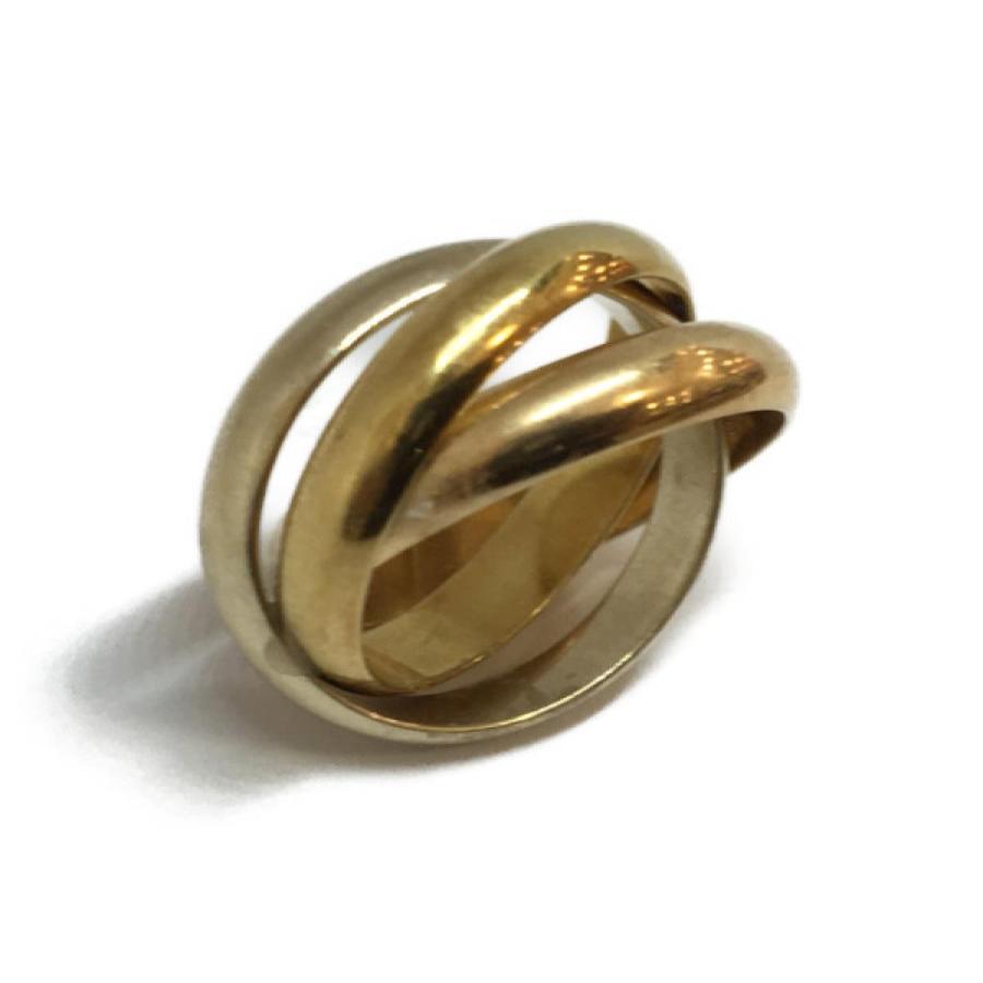 最上の品質な カルティエ ジュエリー トリニティリング 指輪 ランクA #52/12号, cocoro工房 94d1da20