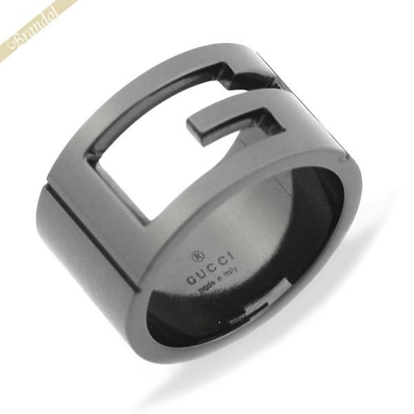 【一部予約販売】 〈クーポン配布中〉グッチ GUCCI メンズ・レディース 指輪 リング カットアウトG リング 224031 10号 指輪 ブラック系 224031 J8400 8195 10, 亀井蒲鉾:1c9676af --- airmodconsu.dominiotemporario.com