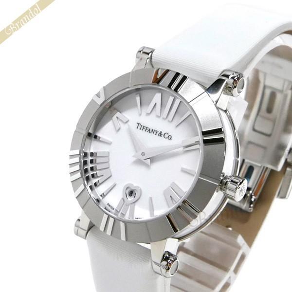 新着商品 〈クーポン配布中〉ティファニー Tiffany Tiffany レディース腕時計 アトラス サテンベルト アトラス 30mm ホワイト ホワイト Z1300.11.11A20A41A, ペダル、エアロのダックスガーデン:e933c42f --- airmodconsu.dominiotemporario.com