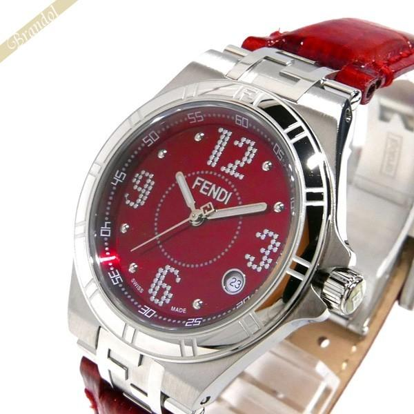 2018新発 《クーポン配布中》フェンディ FENDI レッド FENDI レディース腕時計 ハイスピード 33mm レッド ハイスピード F414377B, Auntie Bev:e0672ca6 --- airmodconsu.dominiotemporario.com
