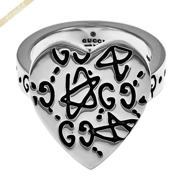 有名な高級ブランド 《クーポン配布中》グッチ GUCCI レディース 指輪 グッチゴースト ハート リング 11号 シルバー 457229 J8400 0701 11, The Black Market b5c06d3c
