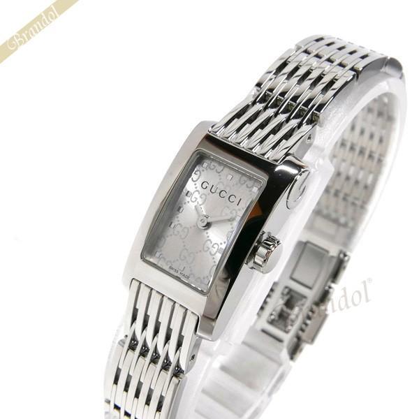 【国産】 《クーポン配布中》グッチ GUCCI シルバー レディース腕時計 Gメトロ レクタングル [取寄品] レクタングル シルバー YA086513 [取寄品], カフェロッソ ビーンズストア:c6288b2e --- airmodconsu.dominiotemporario.com