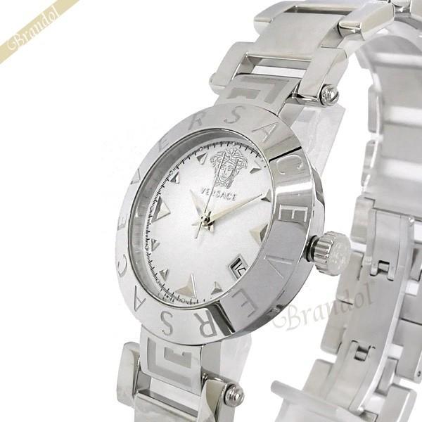 超歓迎 《クーポン配布中》ヴェルサーチ VERSACE レディース腕時計 REVE 34mm ホワイト×シルバー XLQ99D001S099, 白峰村 7aacee31