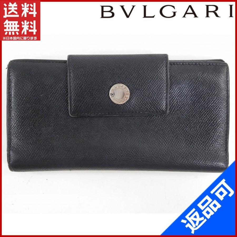new style 8be47 8ce42 ブルガリ BVLGARI BVLGARI 財布 長財布 ブルガリ Wホック財布 ...