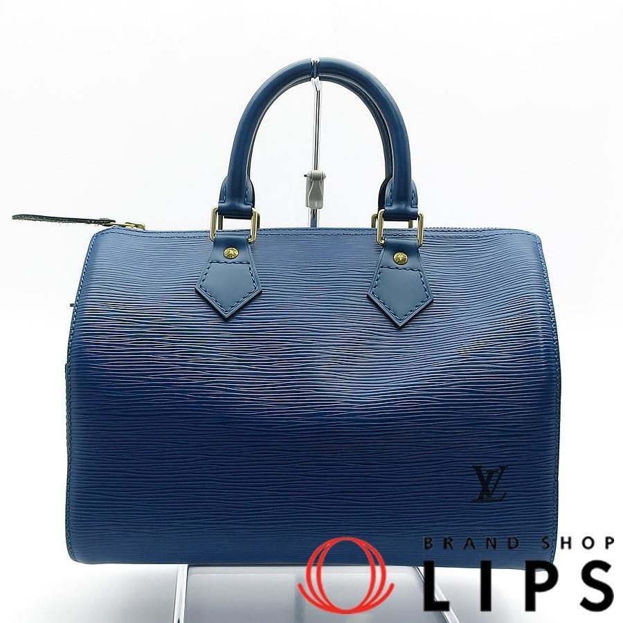 新規購入 ルイ ヴィトン スピーディ25 M43015 エピ ハンドバッグ ブルー 人気 可愛い, タマホチョウ 05296e65