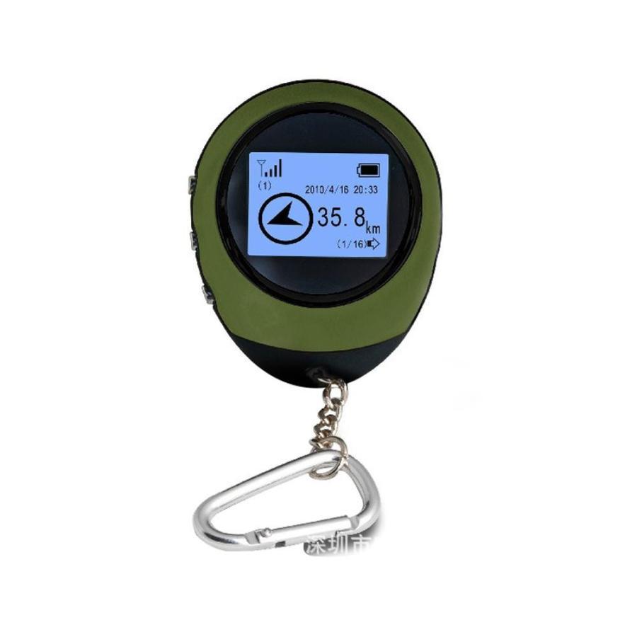 簡単操作 GPSナビゲーター DL-80814アウトドア 旅先 手のひらサイズ
