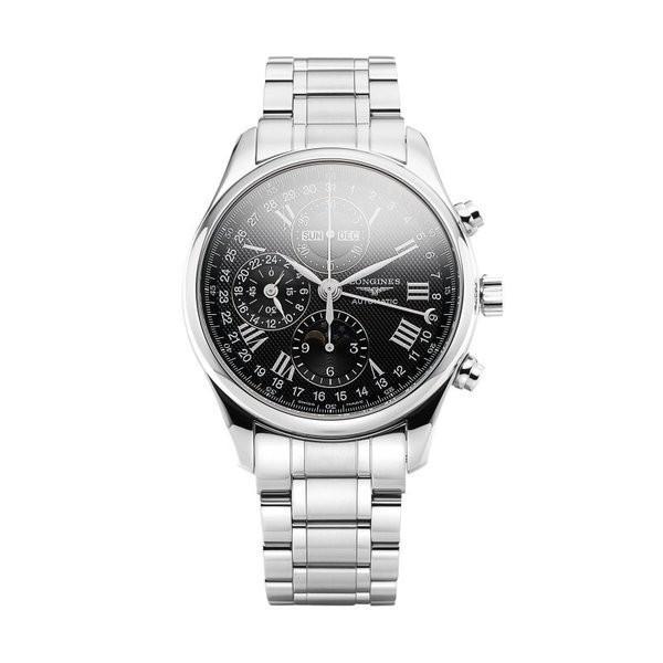 値頃 LONGINES ロンジン 腕時計 マスターコレクション クロノグラフ メンズ ムーンフェイズ 腕時計 L2.773.4.51.6 LONGINES 時計 メンズ Watch 海外正規品, にんにくのたからR:0deabb4d --- airmodconsu.dominiotemporario.com