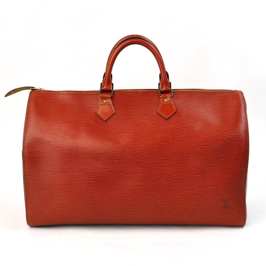 ルイヴィトン Louis Vuitton ボストンバッグ トラベルバッグ エピ スピーディ40 エピレザー ケニアブラウン 定番人気
