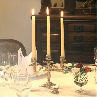 燭台3灯ピッコロ 真鍮製品金色 ブラス イタリア製アンティーク調雑貨キャンドルスタンド|brass-alivio|04