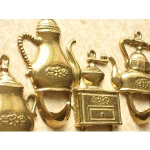 フック ケトル4個組  真鍮製品金色 ブラス イタリア製アンティーク調雑貨|brass-alivio|03