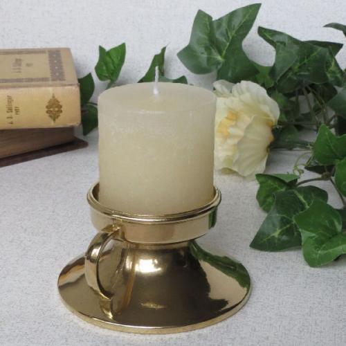 37%off 燭台1灯ピアット 真鍮製品金色 ブラス イタリア製アンティーク調雑貨キャンドルスタンド brass-alivio 02